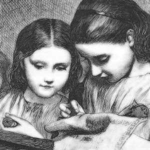Girls Sewing