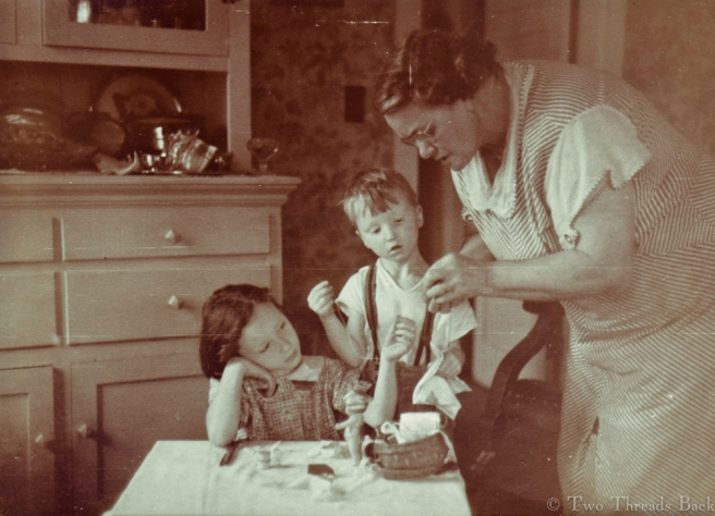 Sewing Lesson 1934