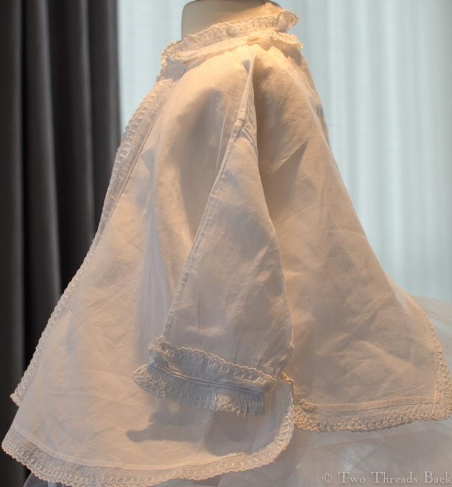 Infant Sacque, left