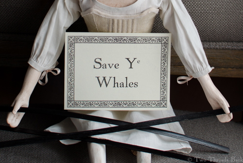 Save Ye Whale Placard