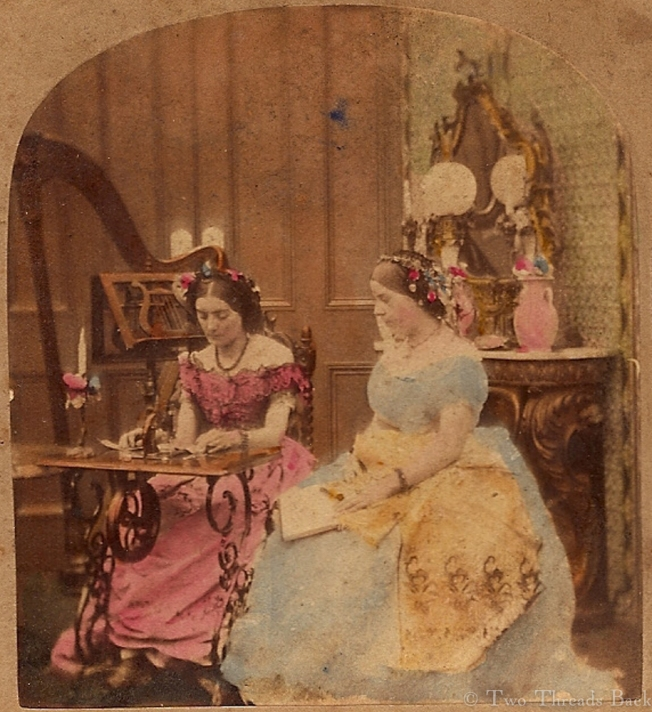 Sewing in the Parlor