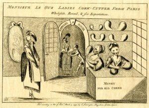 Cork-Cutter Cartoon