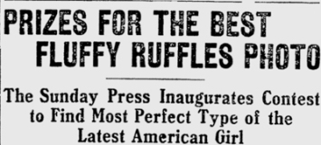 Fluffy Ruffles Contest