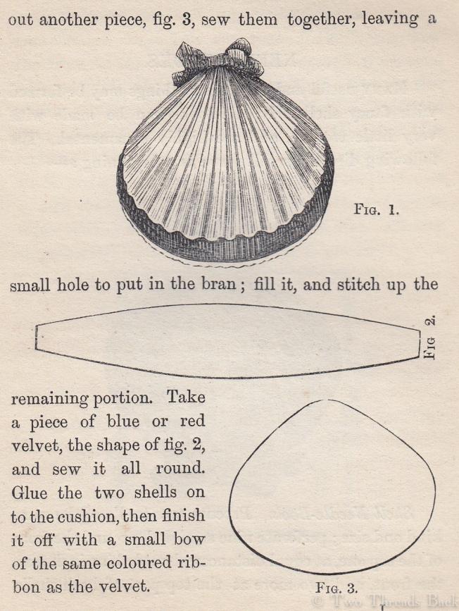 Shell Pin Cushion 2