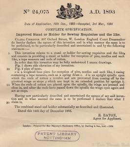 Christie Patent 1