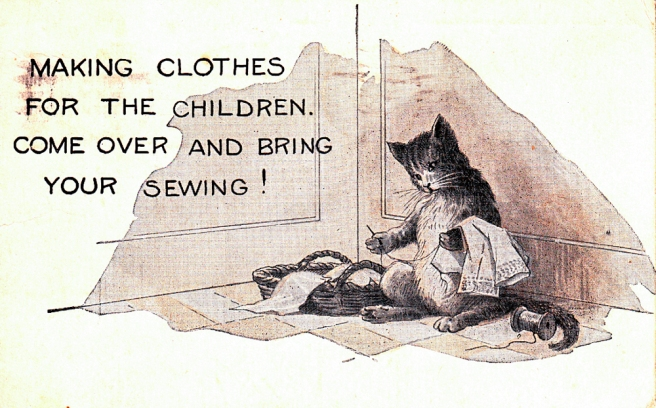 Sewing Cat
